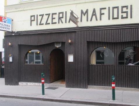 Pizzeria Mafiosi Exterier